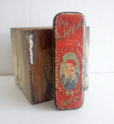 pansy lithograph art tin - Google Search