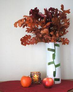 Fall decor, autumn leaves