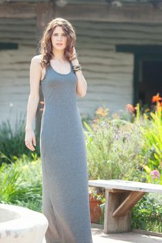 Mission Maxi sewing pattern. I bought one of these forever ago and it's my FAVORITE lazy day dress.