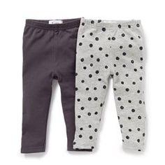 Legging (lot de 2) 1mois-3ans LES PETITS PRIX - Bébé fille 0-3 ans