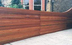 horizontal fence panels | Horizontal Fence Panels: Modern Garden Design Ideas - Quiet Corner