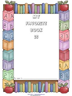 Teachers, Librarians, Parents! Create a colorful display of kids' favorite books! Free download