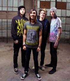 Pierce the Veil (nom nom tasty Mexicans)