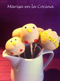 Marisa en la Cocina: Cake Pops de Chocolate