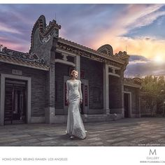 Pre-wedding shoot in Beijing by the one and only @cmleung. Photo by +M retouch : CMPP camera : Sony Hong Kong A7rll 16-35 f4 lighting : Phottix #Odinll + #Indra500