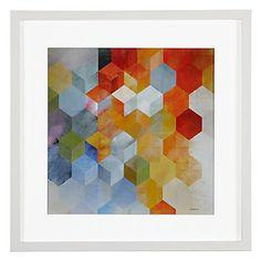 Cubitz 1 | Framed Art | Art by Type | Art | Z Gallerie