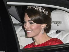 Kate Middleton in Lotus Tiara