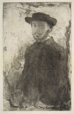 Edgar Degas - Self Portrait, 1857 - (French, 1834–1917). The Metropolitan Museum of Art, New York