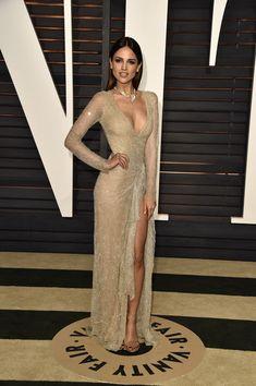 Eiza Gonzalez Photos: Arrivals at the Elton John AIDS Foundation Oscars Viewing Party — Part 5