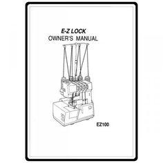 SIMPLICITY EASY LOCK 804 804D SERGER INSTRUCTION MANUAL