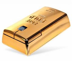 The Gold Bullion Wireless Mouse