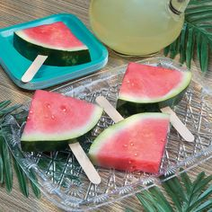 Watermelon Pops - OrientalTrading.com  Magical Monday  www.kpoindexter.wordpress.com