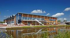 Stride Treglown's low carbon building for Sainsbury's flagship store, Gloucester.