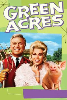 Green Acres is on the placed to be. I loved this show but my dad thought it so stupid. It was a spin off from that other show with the three country sisters who used to swim or bathe in the water tower. What is that show? Childhood Tv Shows, My Childhood Memories, Childhood Characters, 1980s Childhood, School Memories, Childhood Friends, Sweet Memories, Mejores Series Tv, Nostalgia