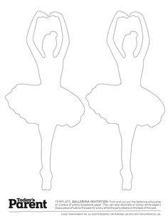 plantilla de la bailarina - Padres de hoy