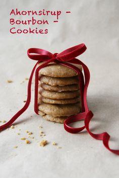 Ahornsirup-Bourbon-Cookies