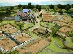 Wargaming with Silver Whistle: Medieval Terrain for War of the Roses game