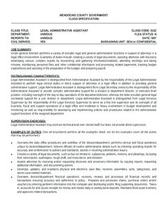 Attorney Resume Templates Lawyer Template Administrative Assistant Samples Legal Layout