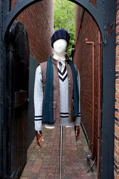 cd59ff30b65 Henry Bucks Knitwear - made outside of Florence  Barbour vest and shirt   John Smedley