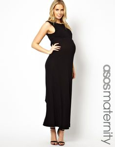8bd3117aa43 Shop French Connection Maternity Gathered Maxi Dress at ASOS.