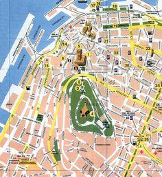 Mappa di Vigo in Spagna