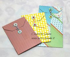 Coin envelope tutorial con envelope punch board