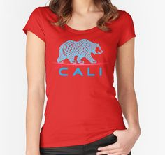 """CALI"" T-Shirts & Hoodies by Omar Mejia 