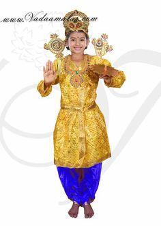 79acd4b4d FANCY DRESSES Kids Krishna Costume for Janmashtami Kanha Mythological  Character Buy Online