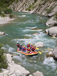"""What to do: """"Visit Geyser Whitewater in Yellowstone National Park for a guided raft trip down the Gallatin River — like the Obamas did! Then reel in brook trout at smaller creeks nearby."""""""