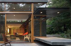 The Woodway Residence by Bohlin Cywinski Jackson
