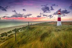 Sylt | diwiesign schreibt zum Foto: Deutschland, Dünen, Ellenbogen, Germany, Himmel, Küste, Landschaft, Leuchtturm, List, List Ost, Meer, Nordfriesland, Nordsee, North Frisia.