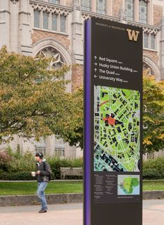 Studio Matthews | University of Washington Wayfinding