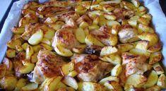 Sladký a lehký vrstvený koláč s kefírem recept New Menu, Sprouts, Potato Salad, French Toast, Potatoes, Vegetables, Cooking, Breakfast, Ethnic Recipes