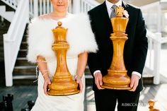 A chess wedding theme. The possibilities! Suited to any color palette. Royals and court theme for seating, etc. Royal Wedding Themes, Couple Photography, Wedding Photography, Wedding Photo Images, Unique Wedding Invitations, Wedding Inspiration, Wedding Ideas, Wedding Pins