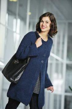 Naisen A-linjainen jakku | Kauneimmat Käsityöt