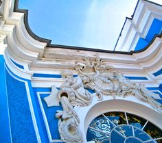 From Catherine the Great's Palace, outside St. Pietersburg, Russia
