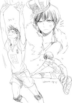 Haikyuu!! ~~ Sketches of the King :: Kageyama Tobio