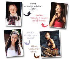 Personagens da cantora Sandy Leah :)