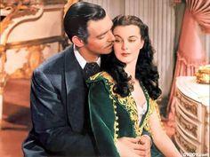 Rhett Butler and Scarlett O'Hara  Gone with the Wind