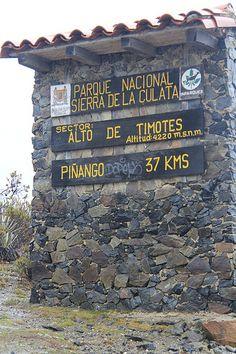 Sierra de la Culata Merida Venezuela
