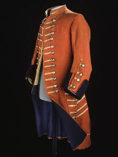 Trooper's red coat, c. 1710 - c. 1740  Museum reference M.1930.137  Date c. 1717 - 1740  Associations British land forces: Royal Scots Greys Dragoons