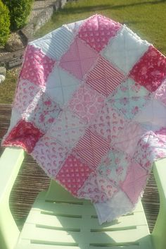 Baby Rag Quilt by BabyBunniesBoutique on Etsy Baby Rag Quilts, Baby Gifts, Gift Ideas, Blanket, Trending Outfits, Unique Jewelry, Handmade Gifts, Etsy, Vintage