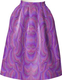 Skirt with a glow in pink from Print All Over Me