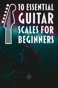 10 Essential Guitar Scales for Beginners Beginner Guitar Scales, Guitar Scales Charts, Guitar Chords And Scales, Learn Guitar Chords, Guitar For Beginners, Guitar Songs, Music Chords, Guitar Art, Classical Guitar Lessons