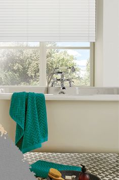 Bathroom Blinds White PVC Venetian Blinds Are Perfect For Bathrooms. Bathroom Blinds, Bathrooms, Small Media Rooms, White Blinds, Media Room Design, Interior Styling, Interior Design, Shades Blinds, Window Styles
