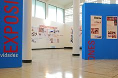 Exhibition on architecture at the National University of Colombia. 2008
