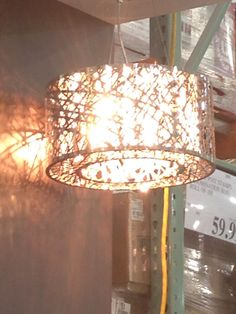 Bathroom Light Fixtures Costco crystal nest light fixture from costco - $129.99 | home decor