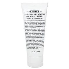 Intensive Treatment & Moisturizer (For Dry or Callused Areas) 100ml/3.4oz by Kiehl's. $32.29. This beauty product is 100% original.. A thick emollient treatment for very dry or callused areas Offers intensive moisturizing effect to balance skin Enriched with Avocado Oil & Shea Butter Helps soften & soothe dry cracked or parched skin Leaves skin velvety smooth supple & comfortable