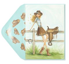 Bella Pilar Fashionable Cowgirl Price $6.95
