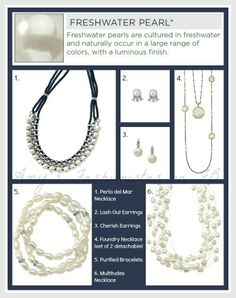 I love that lia sophia uses genuine materials like pearls and beautiful stones in their jewelry! Check out the descriptions and selections from our 2014 Spring/Summer Style Guide. Did you know the properties these stones are said to hold? Click the picture to see more...